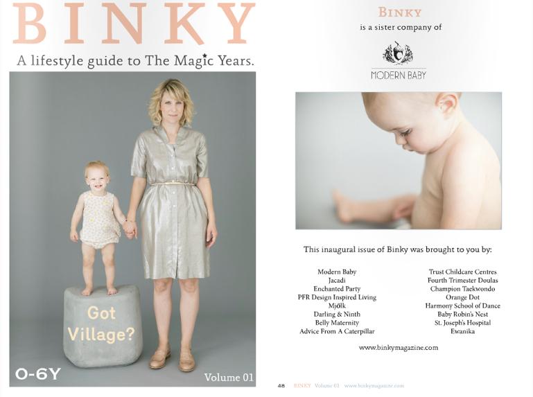 Binky Magazine