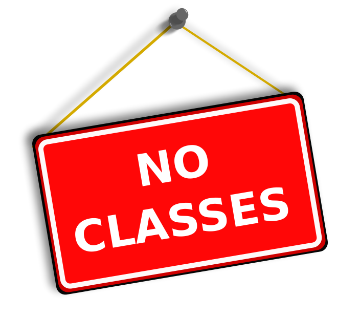 No classes at the Yorkminster Park location on Monday Oct. 23 and Tuesday Oct. 24.